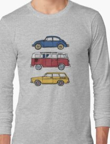 Vintage Volkswagen Family Long Sleeve T-Shirt