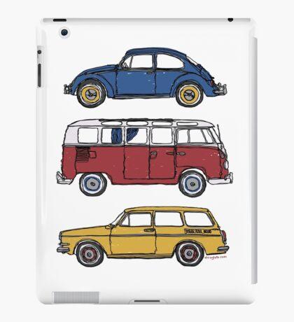 Vintage Volkswagen Family iPad Case/Skin
