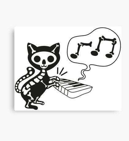 death cat music Canvas Print