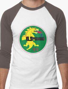 25th Fighter Squadron Men's Baseball ¾ T-Shirt