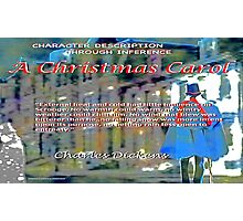A Christmas Carol Character Inference Photographic Print