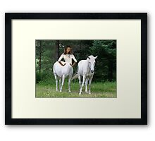 Woman Centaur Framed Print