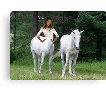 Woman Centaur Canvas Print