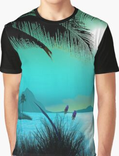 Hawaiian Islands Graphic T-Shirt