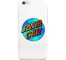 Custom SANTA CRUZ logo iPhone Case/Skin