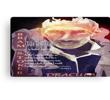 Dracula Character Defined by Another Character Canvas Print