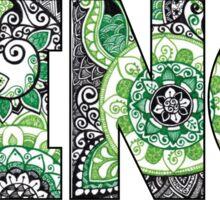 Binghamton Doodle Sticker