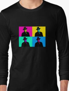 Magneto Pop Art Long Sleeve T-Shirt