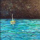 Sailboat Under the Stars by gretzky