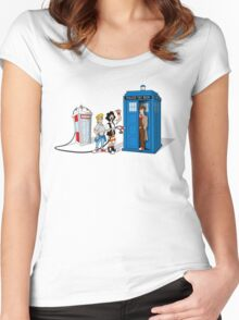 Hey, Doctor Dude! Women's Fitted Scoop T-Shirt