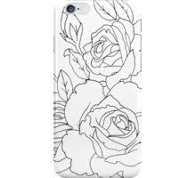 Rose Outline iPhone Case/Skin