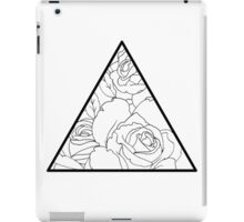 Rose Triangle iPad Case/Skin