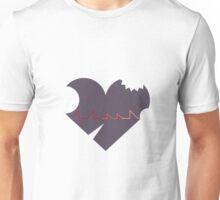 Damaged Heart of the Innocent Unisex T-Shirt