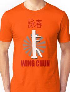 Wing Chun Style T-shirt & Wooden Dummy Martial Art Unisex T-Shirt
