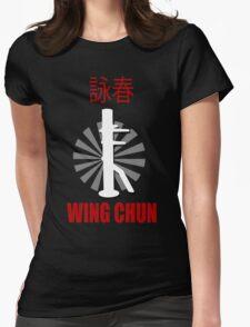 Wing Chun Style T-shirt & Wooden Dummy Martial Art Womens T-Shirt