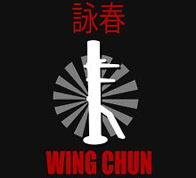 Wing Chun Style T-shirt & Wooden Dummy Martial Art Unisex T-Shirt