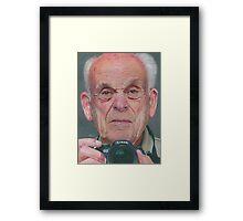 Bill's Selfie Framed Print