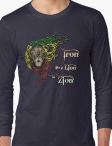 Reggae Rasta Iron, Lion, Zion 4 Long Sleeve T-Shirt