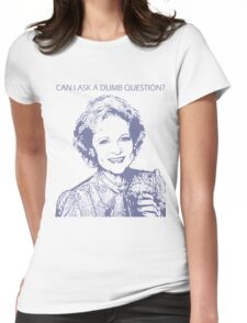 Rose Nylund - Golden Girls Womens Fitted T-Shirt