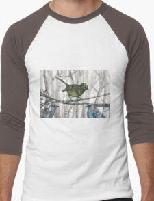 little bird little bird Men's Baseball ¾ T-Shirt