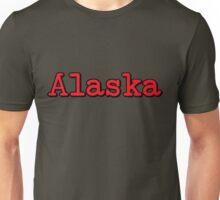 Alaska Typo Unisex T-Shirt