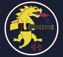 25th Fighter Squadron (choice of background color) Kids Tee