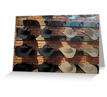 Stetson Country  Greeting Card