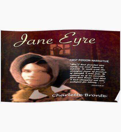 Jane Eyre 1st Person Narrative Poster