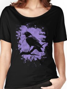Crow bleached violet Women's Relaxed Fit T-Shirt