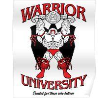 Warrior University Poster