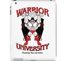 Warrior University iPad Case/Skin