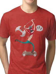 The Vikings Can Skate Tri-blend T-Shirt