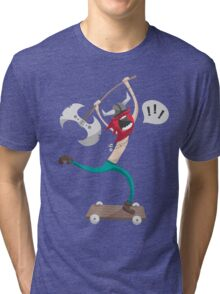 The Vikings Can Skate Tri-blend T-Shirt