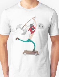 The Vikings Can Skate Unisex T-Shirt