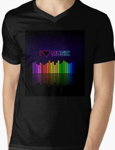 I love music Mens V-Neck T-Shirt