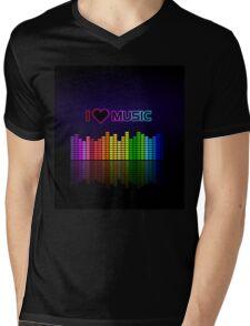 I love music Mens V-Neck T-Shirt