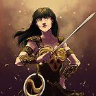 Xena The Warrior Princess by starcanvas
