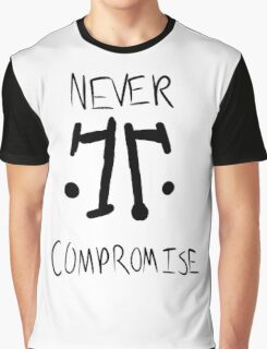 Rorschach: Never Compromise Graphic T-Shirt