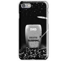 Death Needs A Break Too iPhone Case/Skin