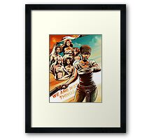 Furiosa and the Wives Framed Print