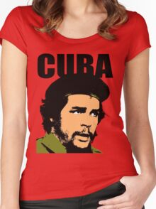 """Ernesto """"Che"""" Guevara Women's Fitted Scoop T-Shirt"""