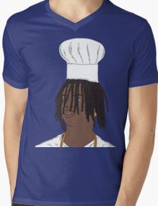 Chief Keef|Chef Keef Mens V-Neck T-Shirt