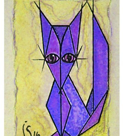 blue fox Sticker