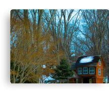A House for Playing Canvas Print