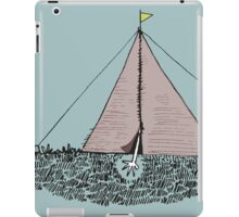 Just get out of the tent iPad Case/Skin