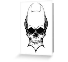 Devil inside two Greeting Card