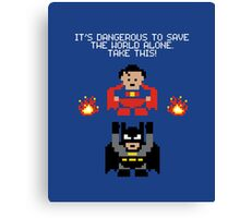 The Legend of Superheroes Canvas Print