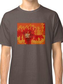 Spongebob Fire Classic T-Shirt