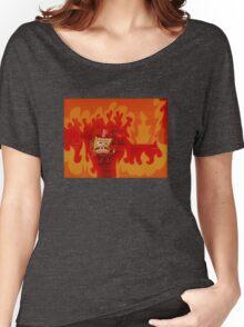 Spongebob Fire Women's Relaxed Fit T-Shirt