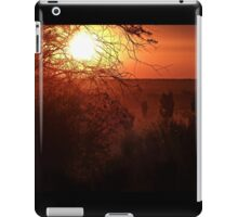 Fire in the landscape (the Outback) iPad Case/Skin
